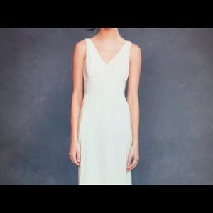 J. Crew Sophia silk ivory bridesmaid dress 😻